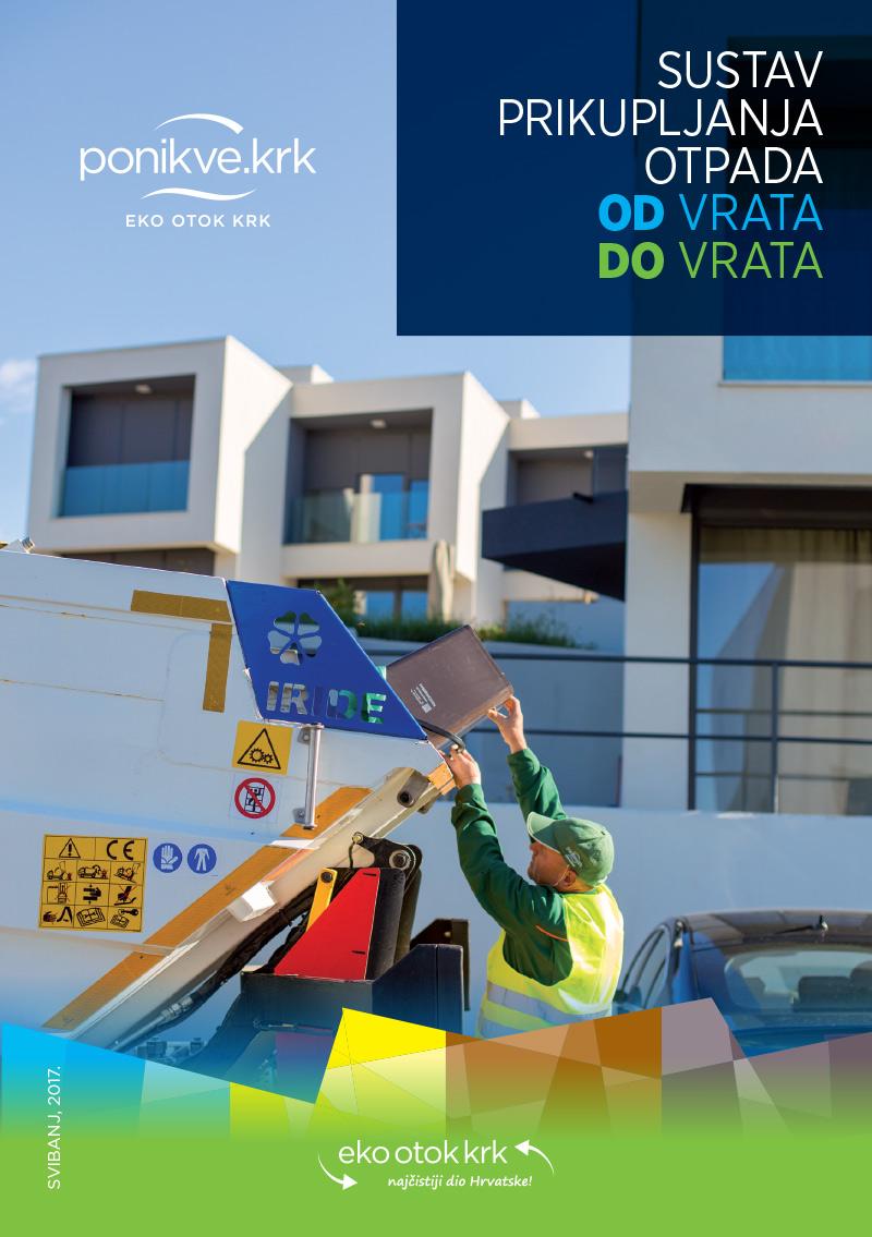 Brošura Odvoz otpada OD vrata DO vrata