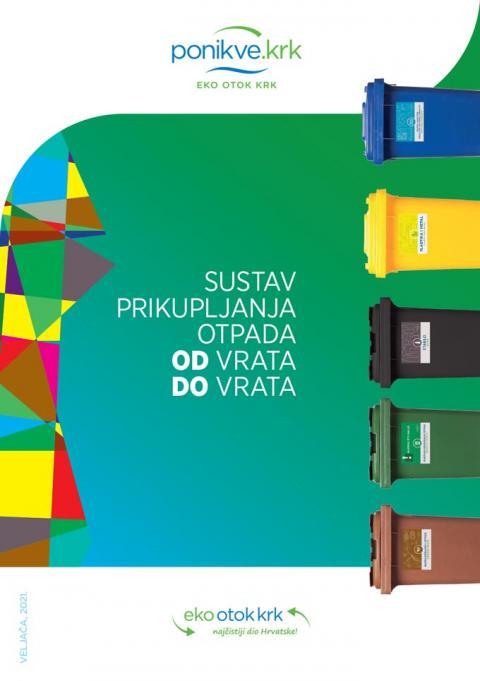 Naslovnica brošure OD vrata DO vrata 2021.