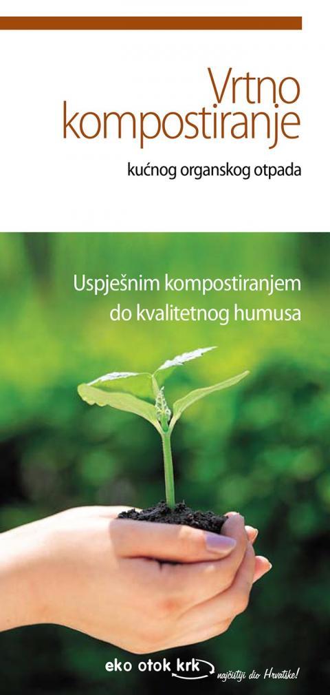Naslovnica letka vrtno kompostiranje